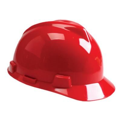 MSA Hard Hat [RATCHED][RED]